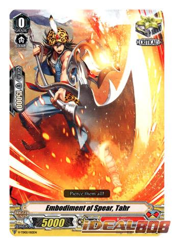 Embodiment of Spear, Tahr - V-TD02/012EN (Regular)
