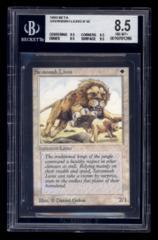 Beta Savannah Lions BGS 8.5 [0010701286] Strong Subs!