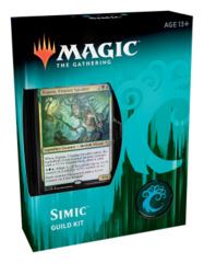 Ravnica Allegiance (RNA) Guild Kit Deck [Simic Combine] * PRE-ORDER Ships Feb.22