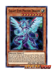 Galaxy-Eyes Photon Dragon - LED3-EN039 - Super Rare - 1st Edition