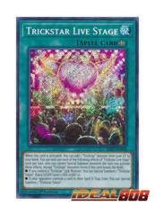 Trickstar Live Stage - SAST-EN058 - Secret Rare - 1st Edition