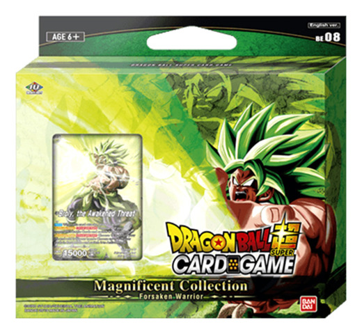 DBS-BE08 Broly: Br Ver. (English) Dragon Ball Super Magnificent Collection
