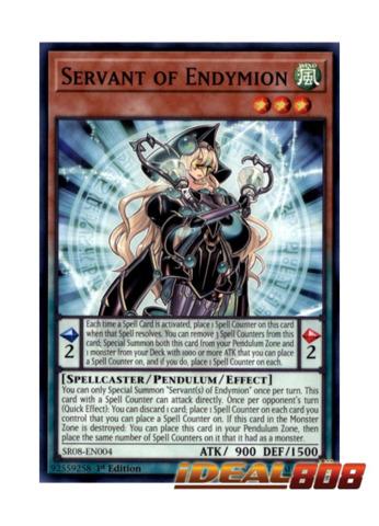 Servant of Endymion - SR08-EN004 - Common - 1st Edition