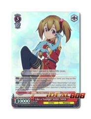 Like a Younger Sister, Silica [SAO/S20-E047R RRR (Foil)] English