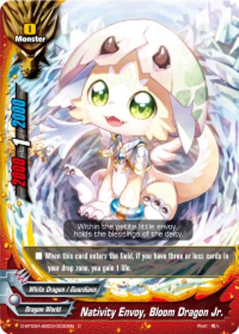 Nativity Enovy, Bloom Dragon Jr. [D-BT02A-EB03/0032EN C (FOIL)] English