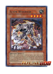 Alien Warrior - POTD-EN027 - Rare - 1st Edition