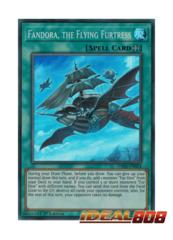 Fandora, the Flying Furtress - DASA-EN024 - Super Rare - 1st Edition