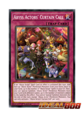 Abyss Actors' Curtain Call - LED3-EN049 - Common - 1st Edition