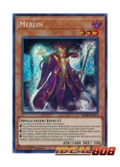 Merlin - BLRR-EN073 - Secret Rare - 1st Edition