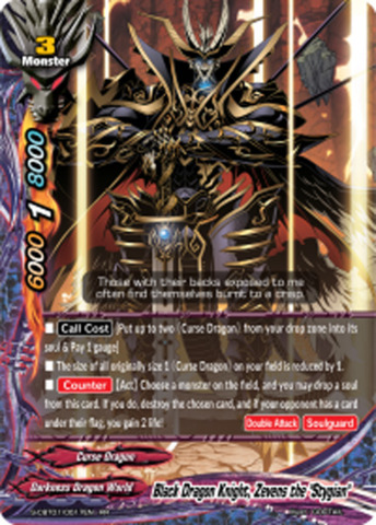Black Dragon Knight, Zevens the