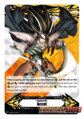 ▽ Imaginary Gift Marker [Accel] Raven-haired Ezel - V-GM/0079EN (Regular) [V-BT03]