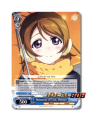 Memories of Live, Hanayo [LL/W34-E093 C] English