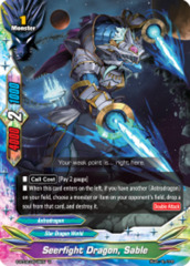 Seerfight Dragon, Sable [S-BT02/0045EN U (FOIL)] English