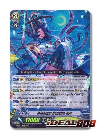 Midnight Regalia, Nyx - EB12/005EN - RR