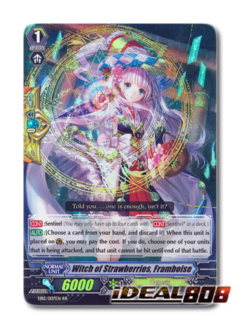 Witch of Strawberries, Framboise - EB12/007EN - RR