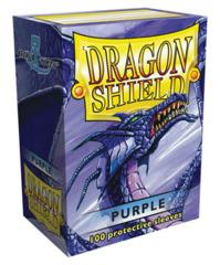 Dragon Shield Standard-size (100ct) Sleeves - Purple