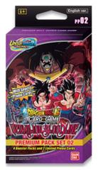 DBS-PP02 Unison Warrior Series 02 (English) Dragon Ball Super Premium Pack Set [4 Packs + 2 Promos]