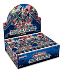 Rising Rampage (1st Edition) Yugioh Booster Box [24 Packs]