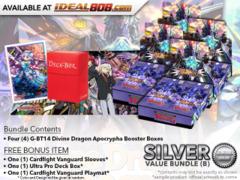 CFV-G-BT14 Bundle (B) Silver - Get x4 Divine Dragon Apocrypha Booster Box + FREE Bonus Items * PRE-ORDER Ships Mar.9