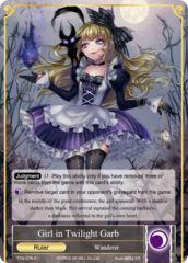 Girl in Twilight Garb // Dark Alice, Maiden of Slaughter [TTW-076 R (Full Art Ruler)] English