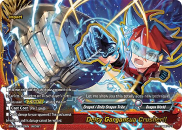 Deity Gargantua Crusher!! [S-BT04/0070EN Secret (FOIL)] English