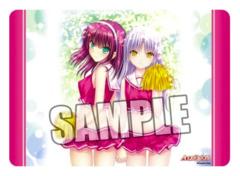 Angel Beats [Yuri Nakamura & Angel/Kanade Tachibana] Ver.3 Broccoli Playmat [#381099]