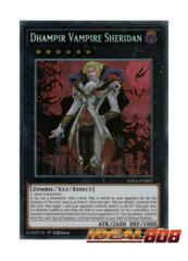 Dhampir Vampire Sheridan - DASA-EN007 - Secret Rare - 1st Edition