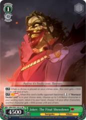 Joker: The Final Showdown [BNJ/SX01-001S SR (FOIL)] English