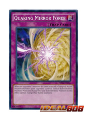 Quaking Mirror Force - SR04-EN036 - Common - Unlimited Edition