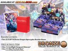 CFV-G-BT14 Bundle (A) Bronze - Get x2 Divine Dragon Apocrypha Booster Box + FREE Bonus Items * PRE-ORDER Ships Mar.9