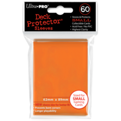 Ultra Pro Small Sleeves 60ct. - Orange
