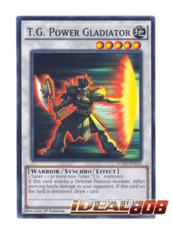 T.G. Power Gladiator - LC5D-EN214 - Common - 1st Edition