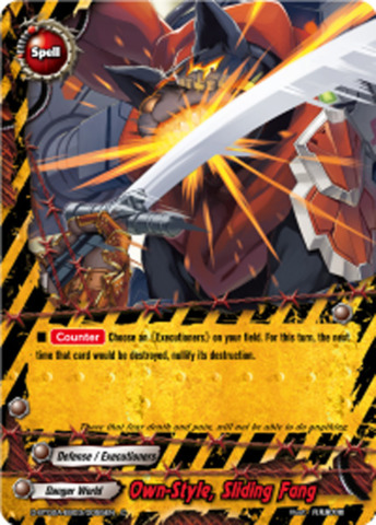 Own-Style, Sliding Fang [D-BT02A-EB03/0055EN C] English