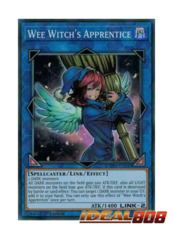 Wee Witch's Apprentice - CYHO-EN049 - Super Rare - 1st Edition