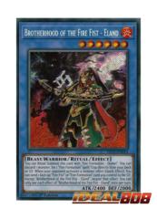 Brotherhood of the Fire Fist - Eland - FIGA-EN014 - Secret Rare - 1st Edition
