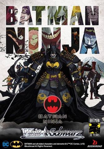 Batman Ninja (English) Weiss Schwarz Booster  Case [16 Boxes]