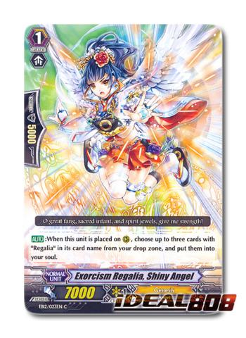 Exorcism Regalia, Shiny Angel - EB12/023EN - C