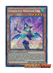 Chocolate Magician Girl - MVP1-ENS52 - Secret Rare - 1st Edition