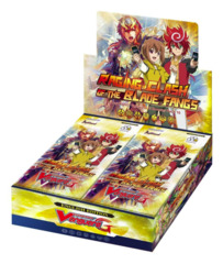 CFV-G-BT10 Raging Clash of the Blade Fangs (English) Cardfight Vanguard G-Booster Box