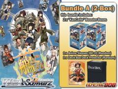 Weiss Schwarz KC Bundle (A) - Get x2 KanColle Booster Boxes + FREE Bonus (Deck Box+Sleeves) <Kantai Collection>