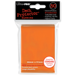 Ultra Pro Large Sleeves 50ct. - Orange (#82673)