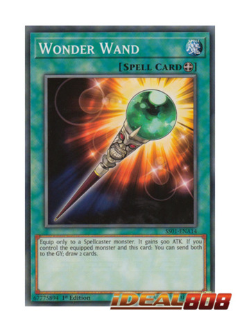Wonder Wand - SS01-ENA14 - Common - 1st Edition