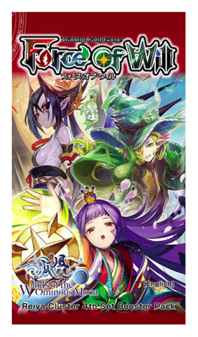 R04 Winds of the Ominous Moon (English) Force of Will Booster Pack