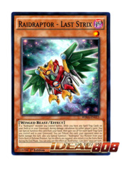 Raidraptor - Last Strix - WIRA-EN015 - Common - 1st Edition