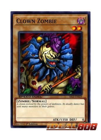 Clown Zombie - SBLS-EN029 - Common - 1st Edition