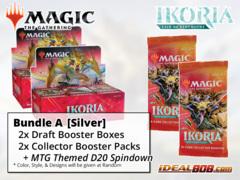 !MTGIkoria BUNDLE (A) Silver - Get x2 Ikoria: Lair of Behemoths Booster Box + x2 Collector Packs