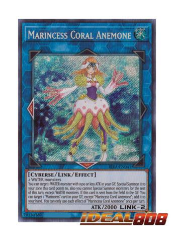 Marincess Coral Anemone - RIRA-EN041 - Secret Rare - Unlimited Edition