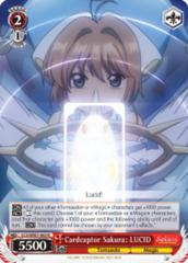 Cardcaptor Sakura: LUCID  [CCS/WX01-063 R (Mosaic Gloss)] English