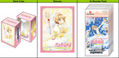 Card Captor Sakura: Clear Card (English) Weiss Schwarz Supply Set [5 Boosters, Deck Box, & Sleeves]