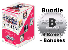 Weiss Schwarz BD/W73 Bundle (B) Silver - Get x4 BanG Dream! Vol.2 Booster Boxes + FREE Bonus Items * PRE-ORDER Ships Jul.03